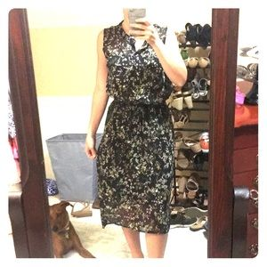 Fully lined high low dress